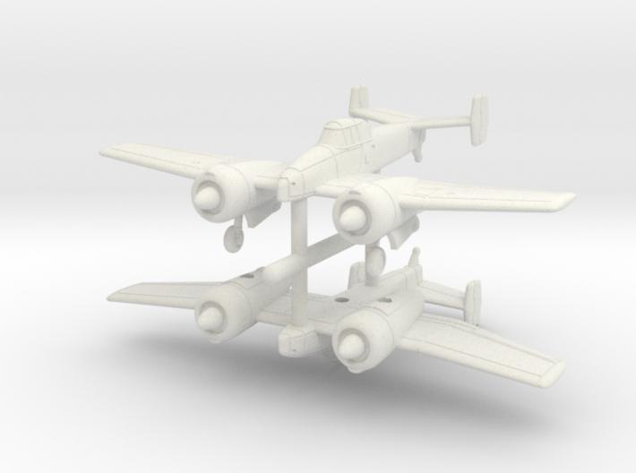 1/200 Grumman XF5F Skyrocket (late) x2 3d printed
