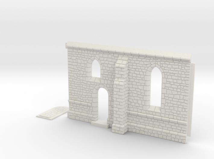 HORelM0103 - Gothic modular church 3d printed
