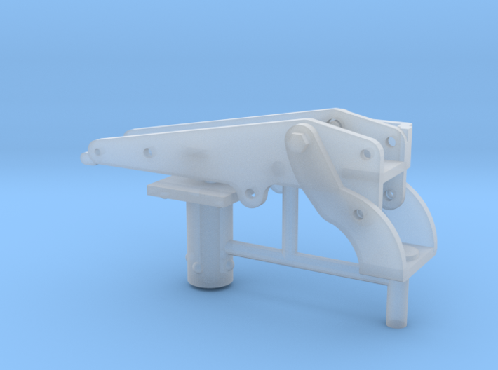 1/16 30 cal' MG vehicle mount. 3d printed