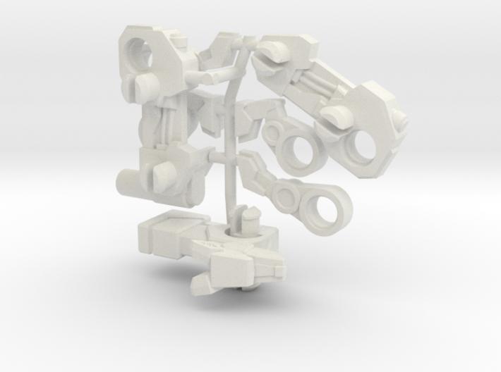 Dobergun Blitzer Transforming Weaponoid Kit (5mm) 3d printed