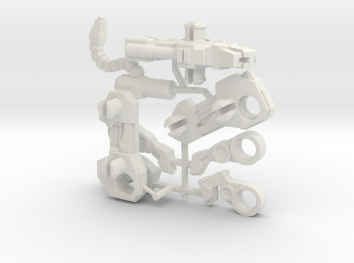 Jaguar Laser Transforming Weaponoid Kit (5mm) 3d printed