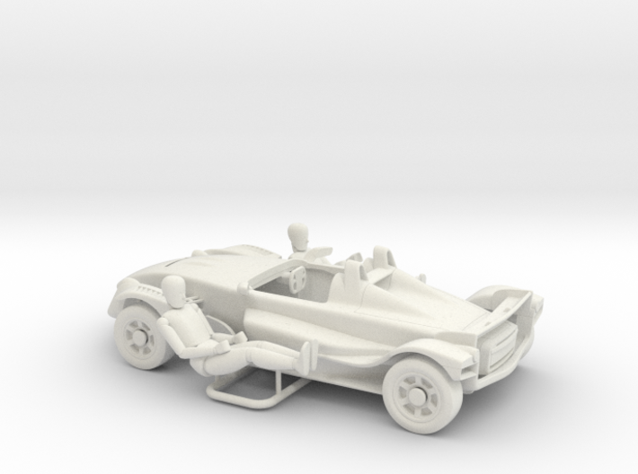 1:43 formula-ppoino fp023c-plus 3d printed