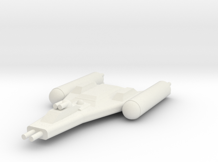 Clone Wars Y-Wing 3d printed