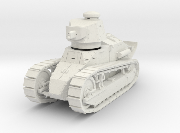 PV12 M1917 Six Ton Tank (37mm Cannon) (1/48) 3d printed