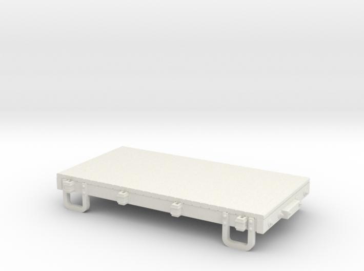 Sn3 13ft flatcar 3d printed