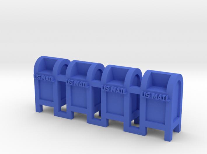 Mail Box - 'N' 160:1 Scale Qty (4) 3d printed