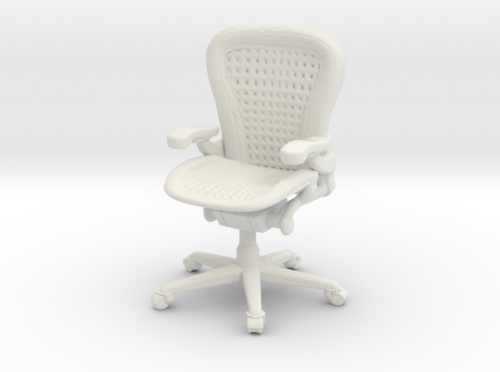 Office Chair 1:50 Scale 3d printed