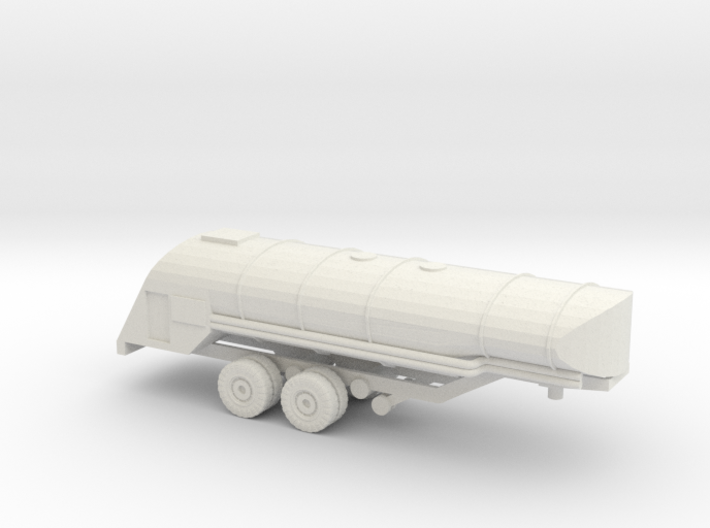 1/144 F-1 Fuel Trailer for Autocar Tractor 3d printed