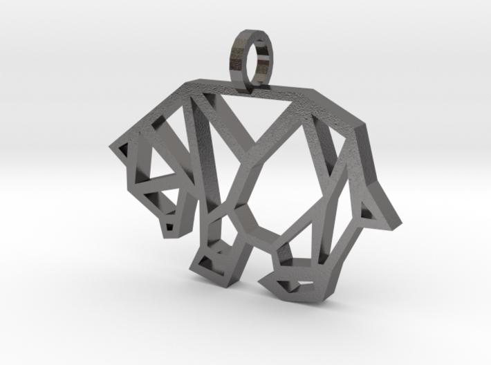 Geometric Polar Bear 3d printed