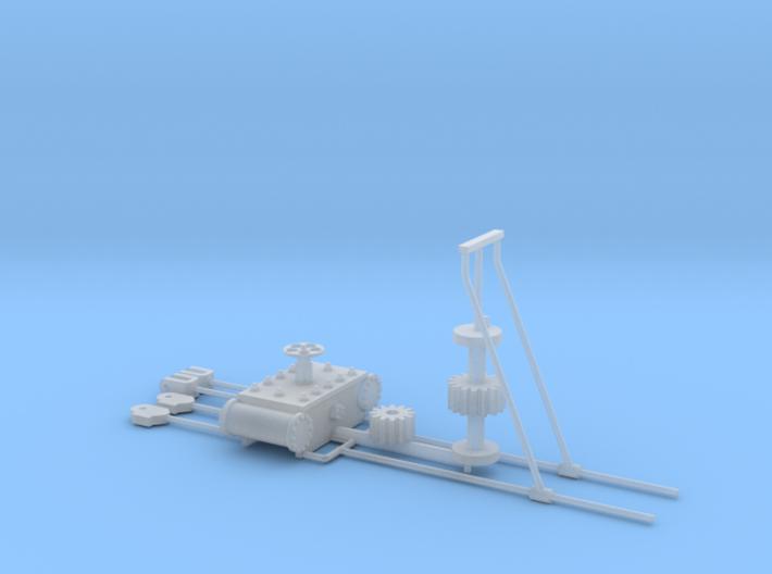 Ankerlier Onderdelen FUD 3d printed