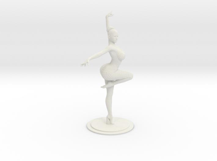 Ballet Girl Body 30cm 3d printed