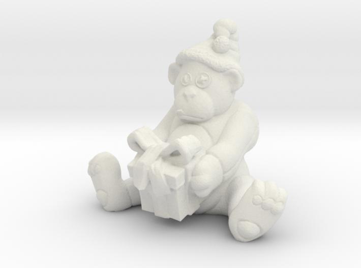 XmasBear 3d printed