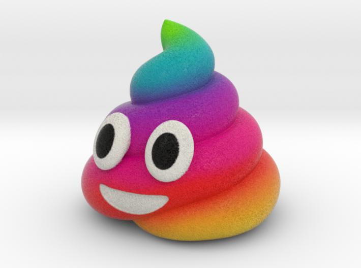 Rainbow Poop (small) 3d printed