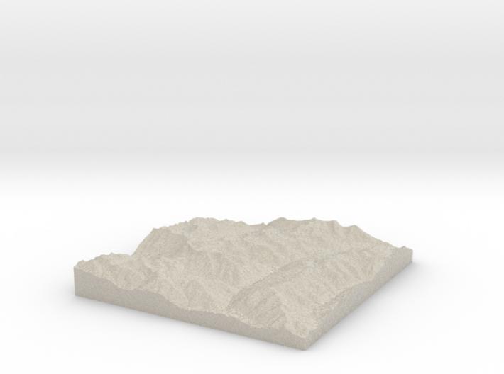 Model of Silver Crown Mine 3d printed