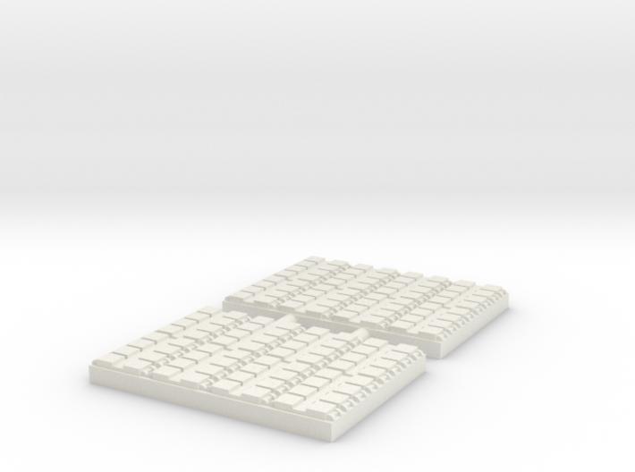 1/350 64 Cell Mk 41 VLS (x2) 3d printed