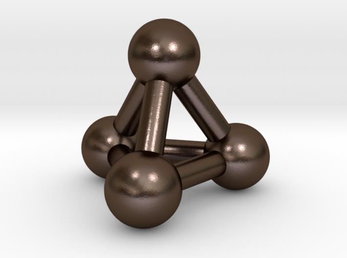 0594 Tetrahedron V&E (a=10mm) #003 3d printed