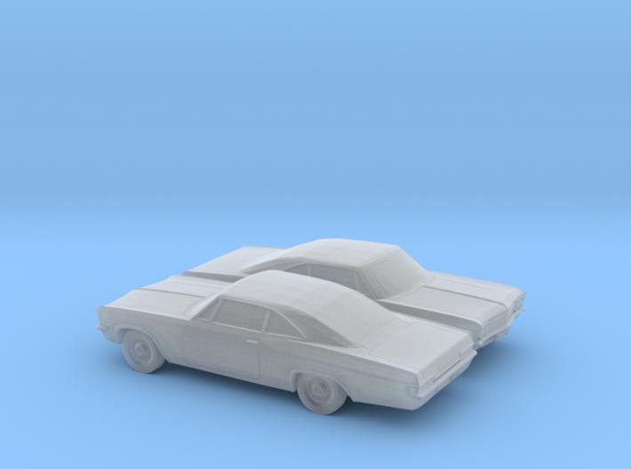 1/160 2X 1966 Chevy Impala SS 3d printed