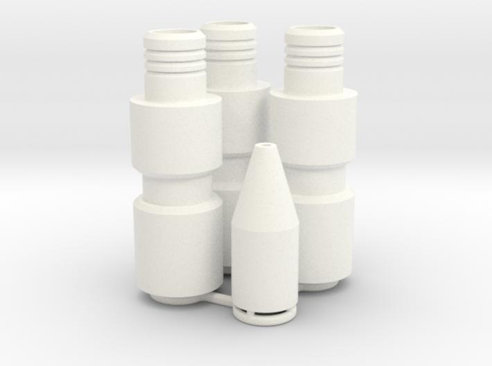 Knee Darts Set 3d printed