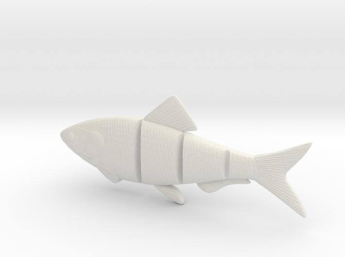 "5"" BiteMe realistic swim bait (master for mold) 3d printed"
