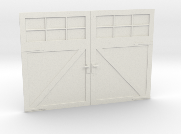 1:24 Scale Settlers Garage Door 3d printed