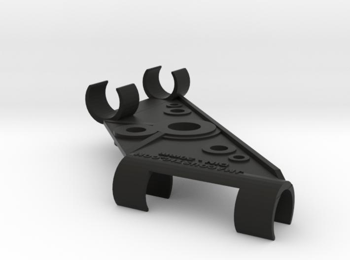 20mm DIN Stereo Mic Clip v3 3d printed