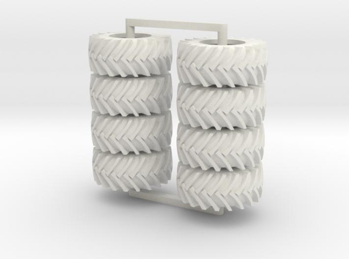 750/38-30 Trelli's, 8 tires 3d printed