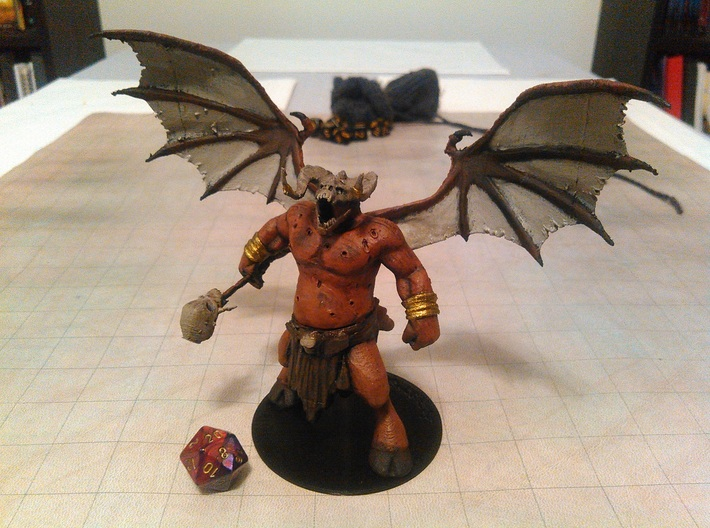 Orcus 3d printed