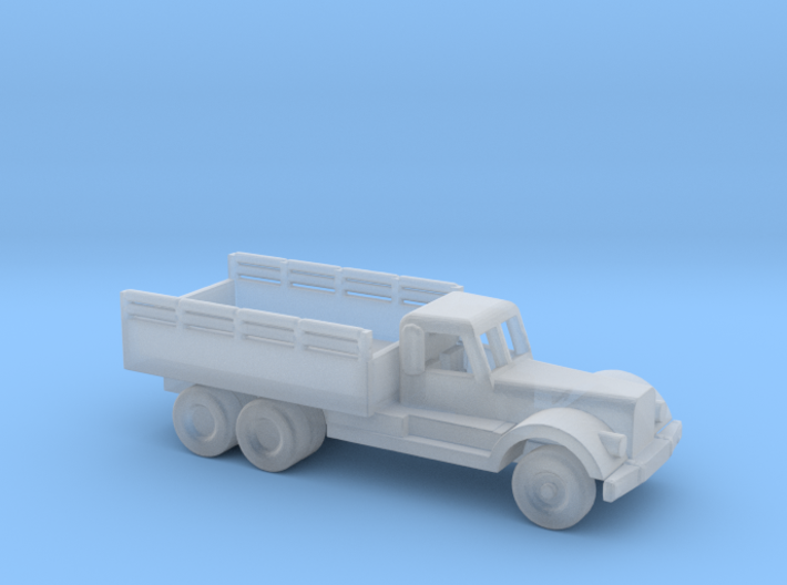 1/144 Scale Diamond T Engineering Truck 3d printed