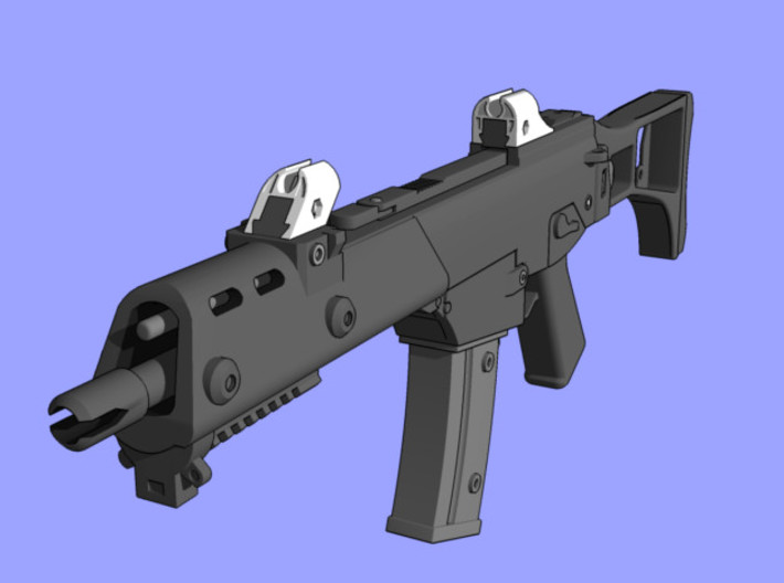 """G36 """"Aurora"""" Sights 3d printed Render of final product"""