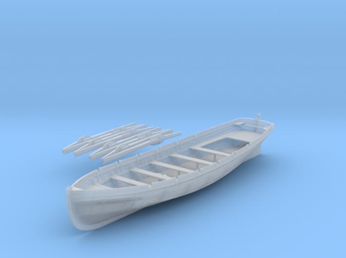 Best Detail 1/48  IJN 9m Cutter w. Paddels 3d printed