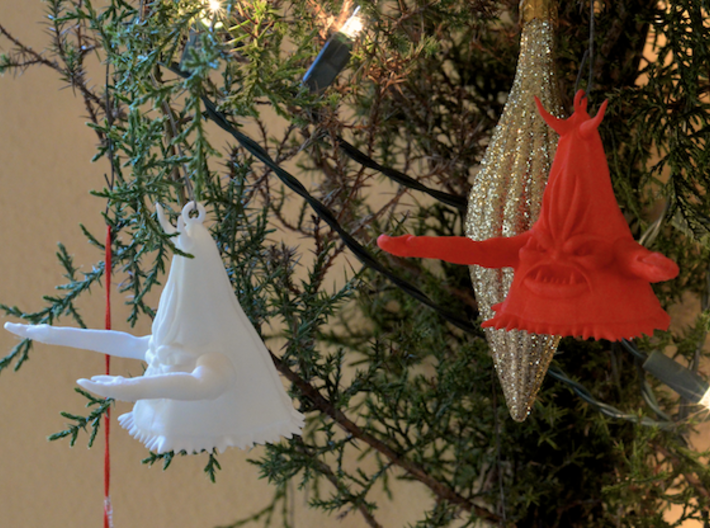 Beulah Ornament 3d printed Beulah Ornaments Conquer Christmas!