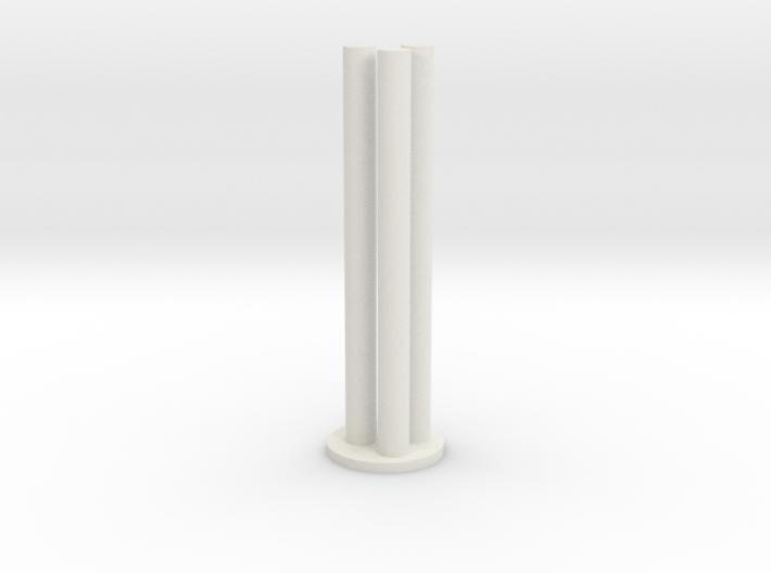TK Grappling Hook 3 Pins 3d printed