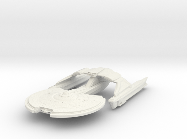 Crow Class IV Refit Destroyer 3d printed