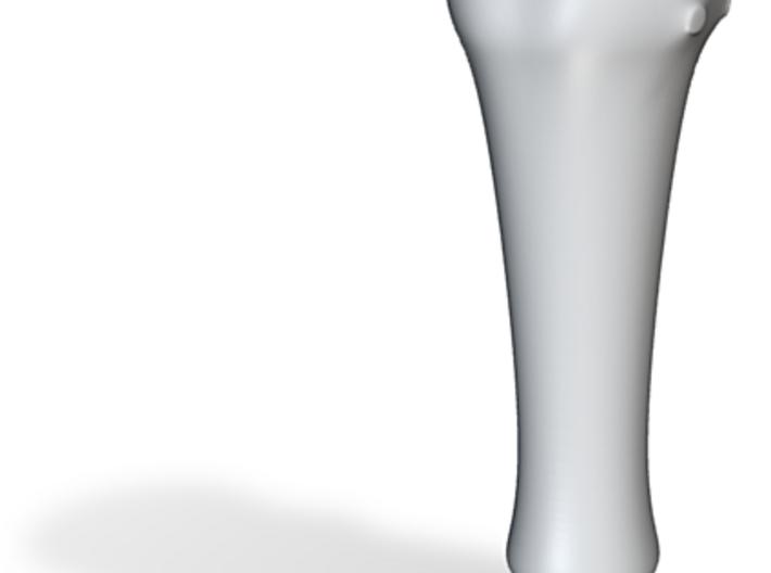 Ghostflux Ceramic Smoking Pipe 3d printed