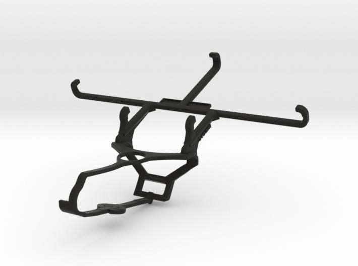 Steam controller & QMobile Noir Z9 Plus - Front Ri 3d printed