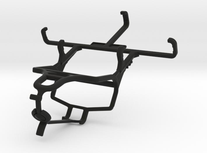 PS4 controller & QMobile T50 Bolt 3d printed