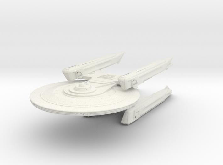 Baker Class VI Refit Cruiser 3d printed