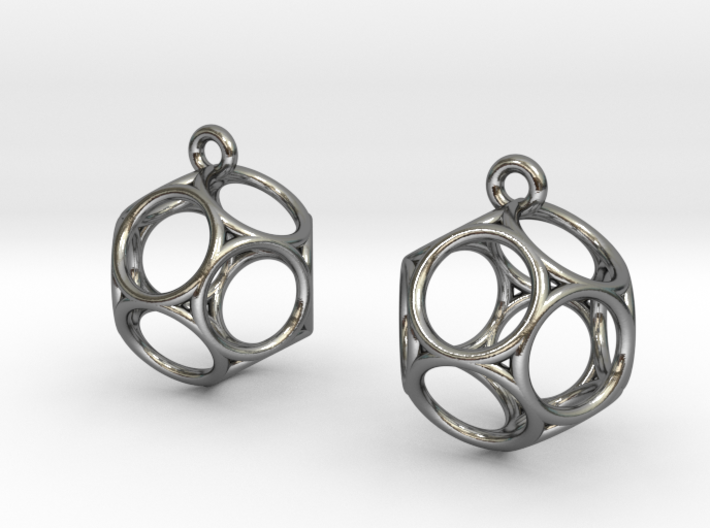 Dod Earrings - Thin 3d printed