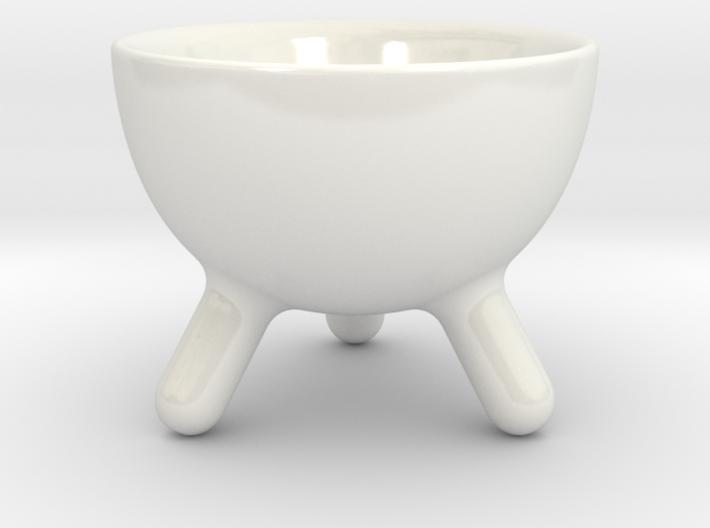 3 legged morning Bowl ø8cm 3d printed