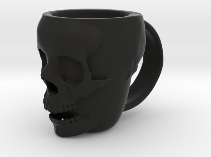 Skull Head Mug 3d printed