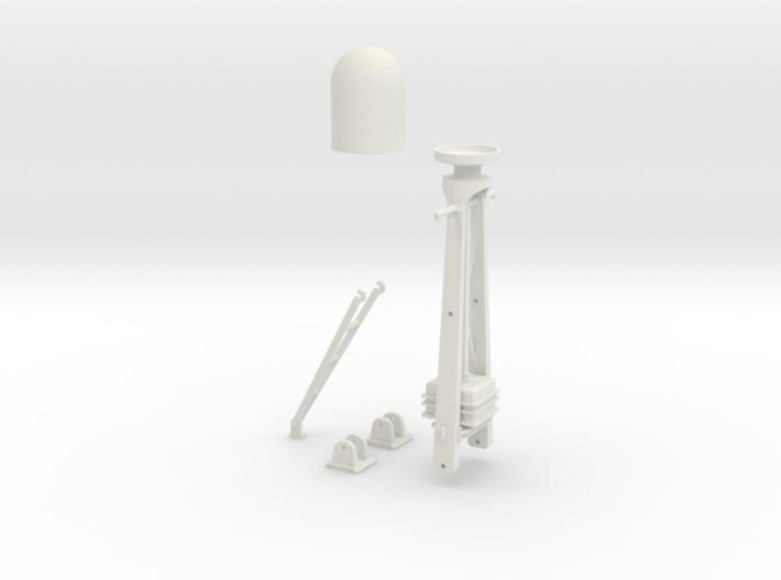 1-30 Radar Mast For PT BOAT 3d printed