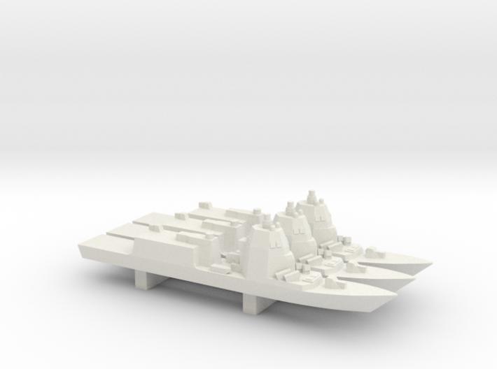 Pattugliatori Polivalenti d'Altura x 3, 1/3000 3d printed