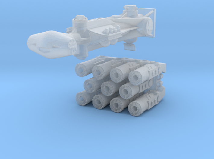 1:2700 Rebel Blockade Runner Zvezda Star Destroyer 3d printed