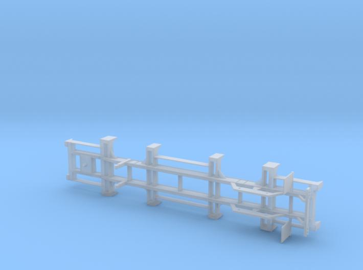 1:87  H0 Terminaltrailer Container Trailer 3d printed