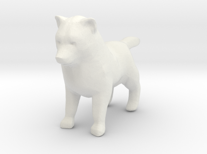 Printle Thing Dog 01 - 1/24 3d printed