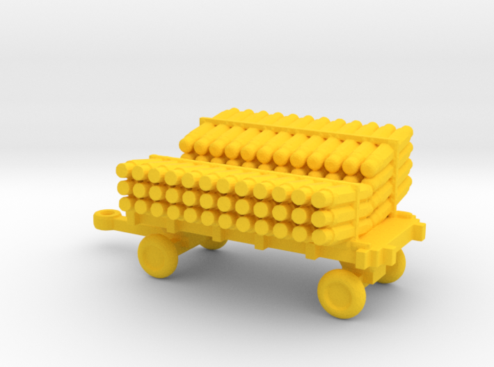 1/144 Scale Scale SonoBouy Cart Loaded 3d printed