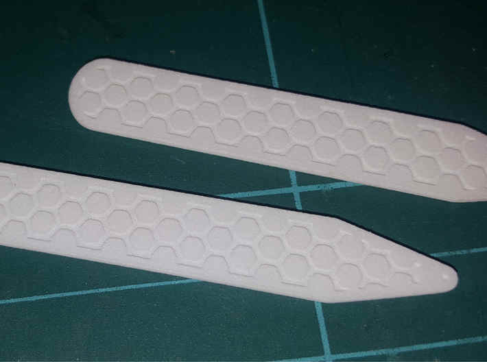 Honeycomb Inverse Collier Straighteners 3d printed