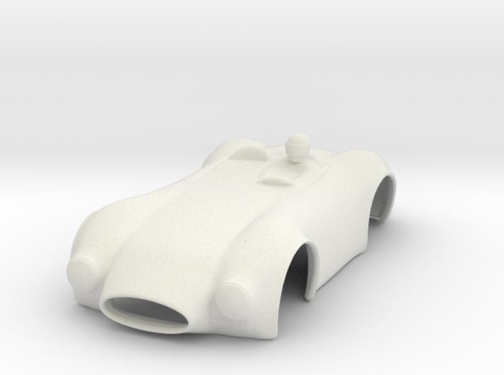 HO Slot Car Shell - Fits Aurora AFX/AutoWorld 3d printed