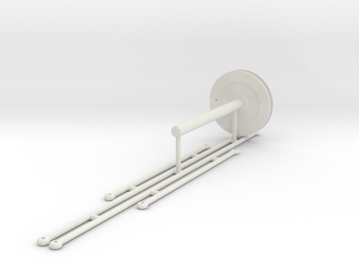 Pendants and taglinewinder 3d printed
