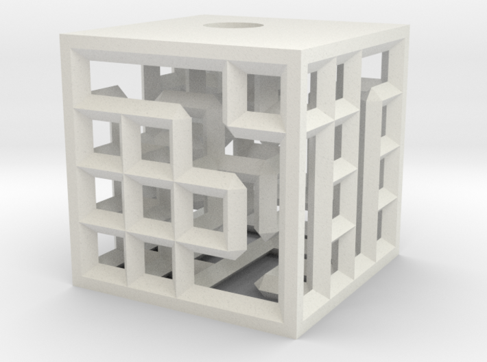 maze4c closed test 3d printed